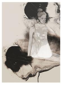 Bilde av Kunsttrykk The Light 30x40 - Anna Bülow