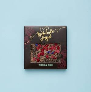 Bilde av Turglede LAKRIS liten sjokoladeplate