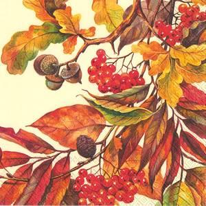 Bilde av Servietter lunsj høstblader