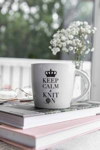 Bilde av Strikkekoppen - Keep calm