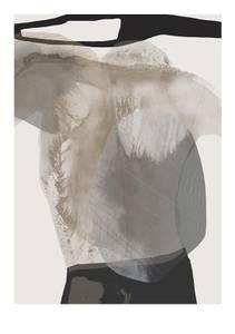 Bilde av Kunsttrykk Monument 2 50x70 - Anna Bülow